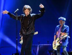 The Rolling Stones perform at Staples Center in Los Angeles