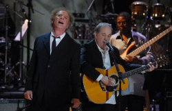 PAUL SIMON RECEIVES FIRST GERSHWIN PRIZE FOR POPULAR SONG IN WASHINGTON