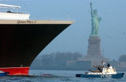 QUEEN MARY 2 COMPLETES MADIEN VOYAGE TO NEW YORK