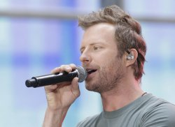 Dierks Bentley performs on the NBC Today Show
