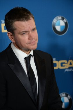 Matt Damon appears backstage at the 68th annual Directors Guild of America Awards