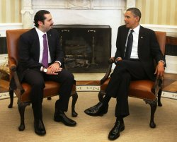 President Obama Meets With Prime Minister Hariri of Lebanon