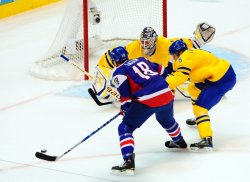 Sweden vs. Slovakia Men's Ice Hockey at 2010 Winter Olympics in Vancouver