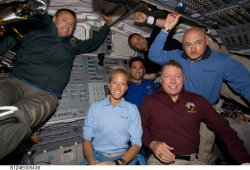 Space Shuttle Discovery continues mission STS-124 to International Space Station