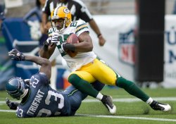 Green Bay Packers vs Seattle Seahawks in Seattle
