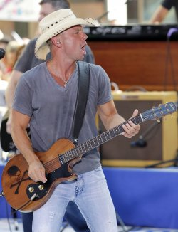 Kenny Chesney on the Today Show in New York
