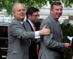 KARL ROVE AND ED GILLESPIE IN WASHINGTON