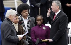 New York City's inauguration ceremonies for Mayor-elect Bill de Blasio