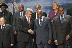 2010 G8, African Outreach Family Photograph in Huntsville, Ontario