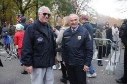 Police Commissioner Bill Bratton at Thanksgiving Parade