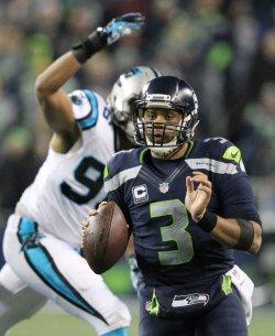Seattle Seahawks beat the Carolina Panthers 40-7 in Seattle