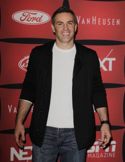"Kurt Warner arrives on the red carpet at ESPN The Magazine's ""NEXT"" Event at Super Bowl XLVI in Indianapolis"