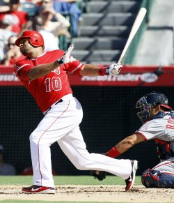 Los Angeles Angels vs Washington Nationals in Anaheim, California