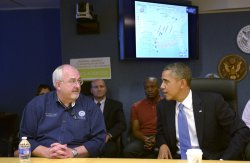 President Obama visits FEMA and delivers remarks on the Government Shutdown in Washington