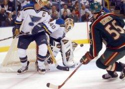 Minnesota Wild vs St. Louis Blues hockey