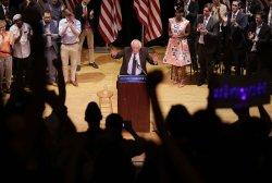 Bernie Sanders speaks at The Town Hall Theater