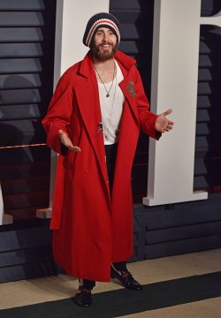 Jared Leto arrives for the Vanity Fair Oscar Party in Beverly Hills