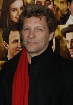 "Jon Bon Jovi arrives for the ""New Year's Eve"" Premiere in New York"