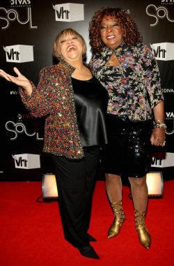 """Mavis Staples and Martha Reeves arrive to the """"VH1 Divas Celebrates Soul"""" concert in New York"""