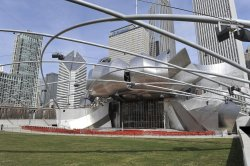 Jay Pritzker Pavillion in Chicago's Millennium Park