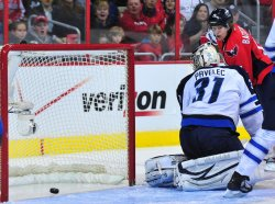 Capitals' Nicklas Backstrom scores in Washington