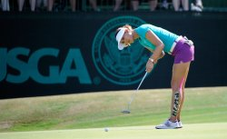 Final Round of the Women's U.S. Open at Pinehurst No. 2 in North Carolina