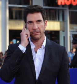 "Dylan McDermott attendS ""The Campaign"" premiere in Los Angeles"
