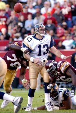 St. Louis Rams at Washington Redskins