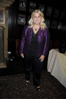 Rita Cosby at the Susan Lucci book signing at the Friars Club
