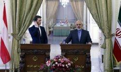 Austrian Foreign Minister Sebastian Kurz in Tehran, Iran