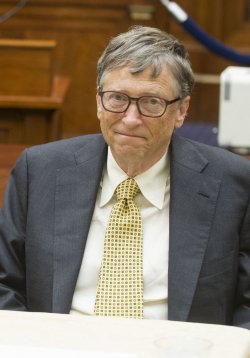 Bill Gates meets with members of the House Foreign Affairs Comittee in Washington, D.C.