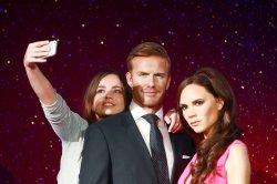"""Beckham Waxwork Unveiling"" in London"