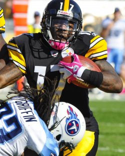Steelers Mike Wallace totals 82 yards and one TD in Pittsburgh