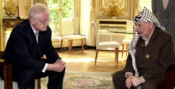 Arafat meets with Jospin