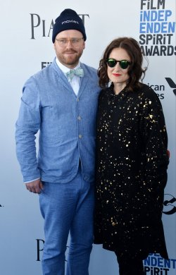 James Laxton and Adele Romanski attend Film Independent Spirit Awards in Santa Monica, California