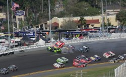 NASCAR Nationwide DRIVE4COPD 300 at Daytona Florida
