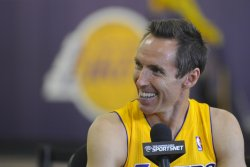 Los Angeles Lakers participate in media day in El Segundo, California
