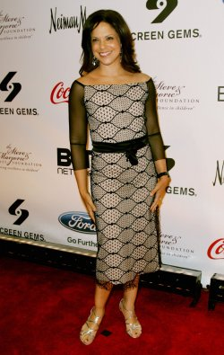 Soledad O'Brien attends the Steve and Marjorie Harvey Foundation Gala New York