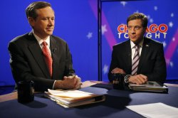 Kirk and Giannoulias participate in candidate forum in Chicago