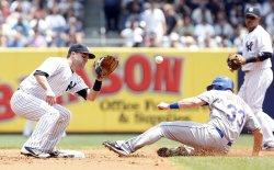 Subway Series New York Mets Play the New York Yankees at Yankee Stadium in New York
