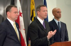 DC MAYOR, MD, VA GOVERNORS MEET TO DISCUSS REGIONAL ISSUES