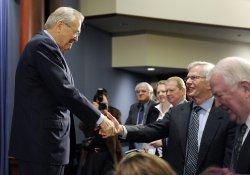 Former Sec. Defense Rumsfeld discusses his book in Washington
