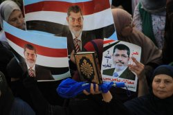 Supporters of Former Egyptian President Mohammed Morsi Protest in Egypt