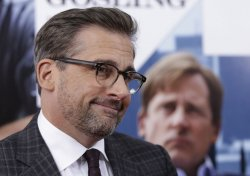 Steve Carell arrives at the Premiere of The Big Short
