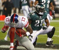 New York Giants vs Philadelphia Eagles at Philadelphia Lincoln Financial Field