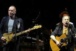 Paul Simon and Sting perform in Florida