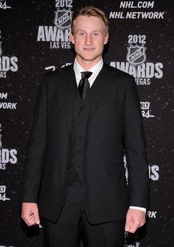 Steven Stamkos arrives at the 2012 NHL Awards in Las Vegas
