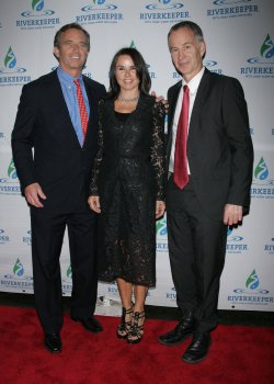 Bobby Kennedy Jr. and John McEnroe and wife arrive for the Riverkeeper's Fishermen's Ball in New York