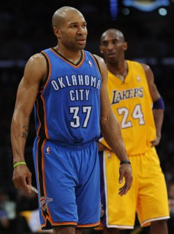Los Angeles Lakers vs Oklahoma City Thunder Game 3 NBA Western Conference Semifinals in Los Angeles