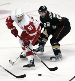 Anaheim Ducks vs Detroit Red Wings NHL Western Conference Semifinals in Anaheim